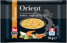 Instantní nudlová polévka PREMIUM s kuřecí pikant příchutí 70 g
