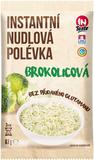 Instantní nudlová polévka INTASTE s brokolicovou příchutí bez přidaného glutamanu 67 g