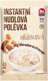 Instantní nudlová polévka INTASTE s hříbkovou příchutí bez přidaného glutamanu 67 g