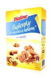 Dialine sušenky se skořicí a kakaem se sladidly 180 g
