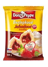 Don Peppe bezlepkové jahodové knedlíky 600 g