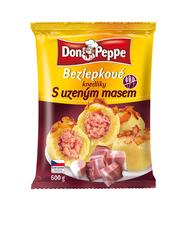 Don Peppe bezlepkové knedlíky s uzeným masem 600 g
