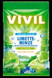VIVIL Limetka - Máta + vit C 80 g bez cukru.