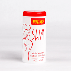 SLIM - stolní sladidlo 500 tablet/30 g