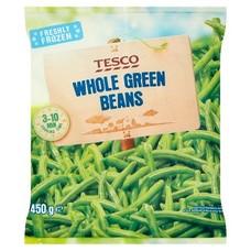Zelené fazolové lusky 450 g