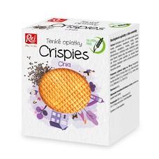 Crispies bezlepkové oplatky s chia 60 g