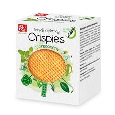 Crispies bezlepkové oplatky s oreganem 60 g