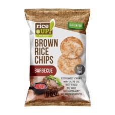 Rýžové chipsy barbecue 60 g