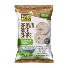 Rýžové chipsy smetana s cibulí 60 g