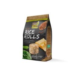 Rýžové minichlebíčky sýr a špenát 50 g