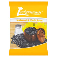 Slunečnicová semínka pruhovaná pražená neloupaná solená 100 g