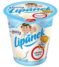 Lipánek smetanový laktóza < 0,01% 130 g, smetanový krém, tuk v sušině min. 30 %