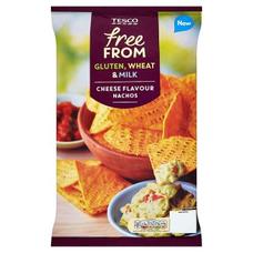 Free From Kukuřičné lupínky s příchutí sýrových nachos 200 g