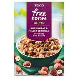 Free From Müsli s rozinkami, kokosem, lískovými ořechy a mandlemi 340 g