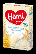 Hami Mléčná kaše rýžovo-kukuřičná 225 g