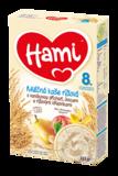 Hami mléčná kaše rýžová s vanilkovou příchutí, ovocem a rýžovými křupinkami 225 g