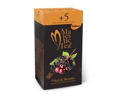 Majestic Tea Višeň & Bezinka 62,5 g