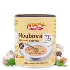 Houbová krémová polévka 400 g