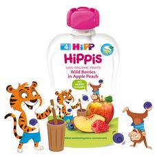 HiPPiS Jablko-Broskve-Lesní ovoce 100 g