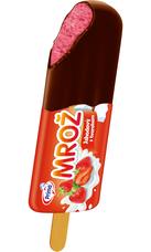 Mrož jahodový v tmavé čokoládě 45 ml