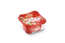 Mrož Svěží jahody se smetanou 850 ml