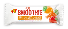 FIT smoothie tyčinka sjablkem, mrkví a pomerančem 32 g