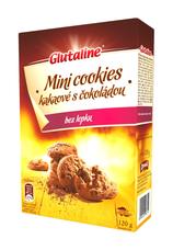 Glutaline Mini Cookies kakaové s čokoládou DRUID 120 g