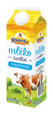 Krajanka mléko čerstvé polotučné 1 l