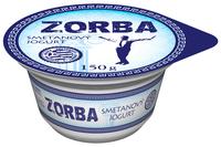 ZORBA jogurt smetanový bílý 150 g