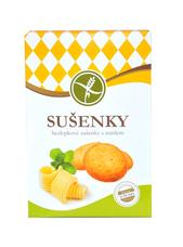 Sušenky s máslem bez lepku 120 g