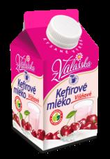 Kefírové mléko nízkotučné višňové 0,8% 450 g