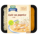 Kuře na paprice s rýží 400 g