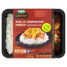 Kuře sladkokyselé omáčce s jasmínovou rýží 400 g