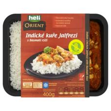 Indické kuře Jalfrezi s Basmati rýží 400 g