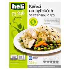 Kuřecí na bylinkách se zeleninou a rýží 325 g