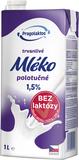 1,5% UHT mléko bez laktózy Mlékárna Pragolaktos  1l