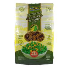 Těstoviny ze zeleného hrášku a kukuřice 400 g SamMills - Vřetena