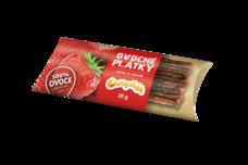 OVOCŇÁK plátky Jablko-Jahoda 20 g