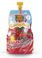 Ovocňák Jablko - Lesní ovoce 250 ml