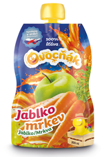 Mošt Jablko - Mrkev  200 ml, 3 l