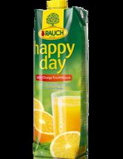 Happy Day pomeranč s dužinou 100% 1 l