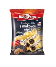 Don Peppe Bramborové šišky s makovou náplní 600 g