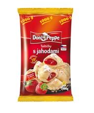 Don Peppe Taštičky s jahodami 500 g