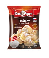 Don Peppe Taštičky s tvarohem 500 g