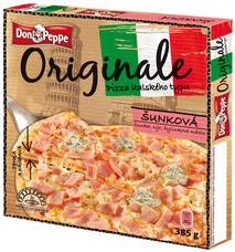 Don Peppe Originale pizza Šunková 385 g
