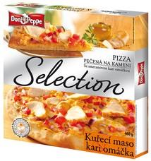 Don Peppe Selection pizza Kuřecí maso a Kari 460 g