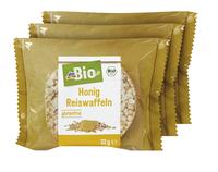 dmBio ryžové chlebíčky s medom 96 g