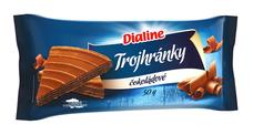 Dialine trojhránky čokoládové 50 g