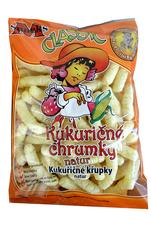 Kukuričné chrumky Nesolené 100 g
