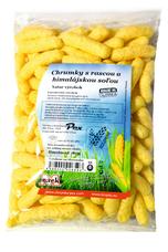 Kukuričné chrumky s rascou a himalájskou soľou /ružová/80 g